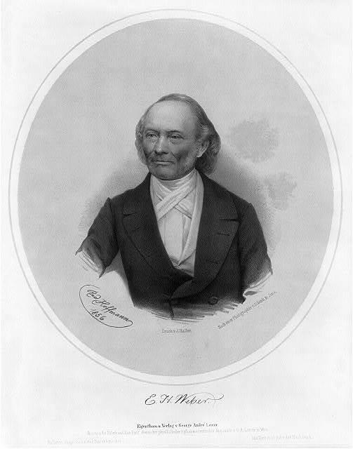 [Ernst Heinrich Weber, 1795-1878, head-and-shoulders portrait, facing front]