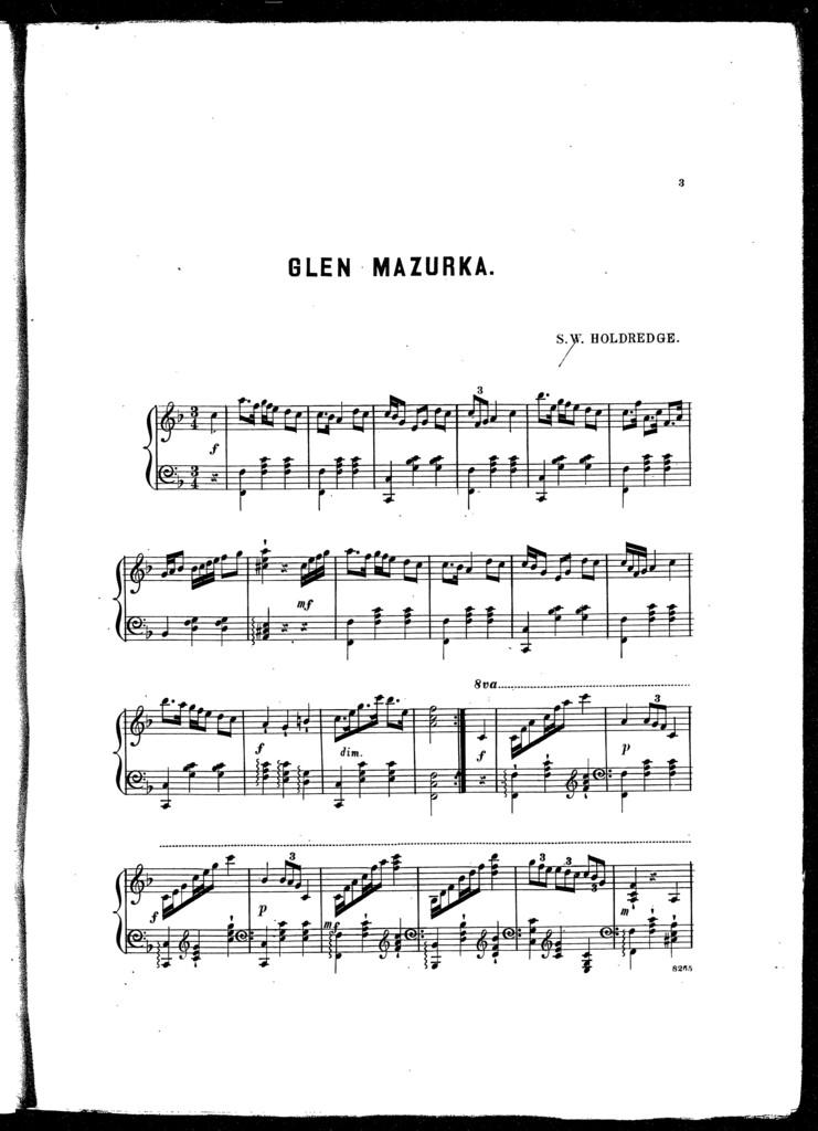 Glen mazurka