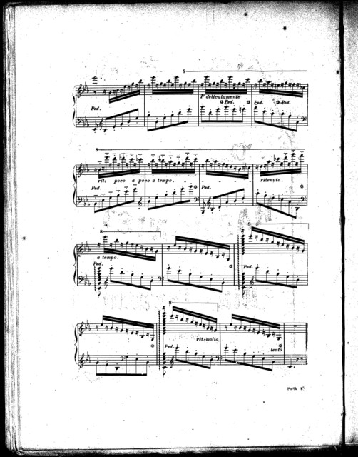 Hommage  ̉Thalberg, mľodie-ťude, op. 24