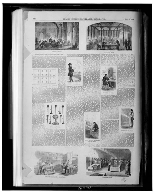 How illustrated newspapers are made