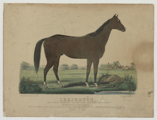 Lexington: the great monarch of the turf and sire of racers