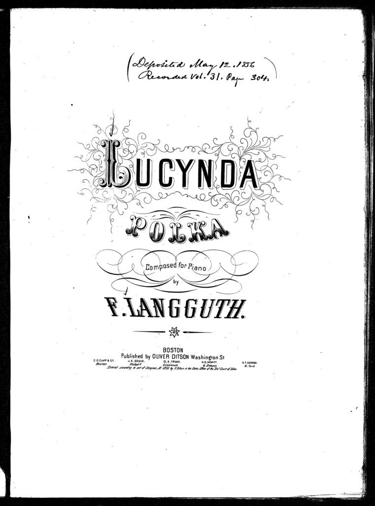 Lucynda polka