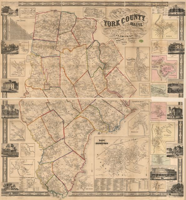 Map of York County, Maine /