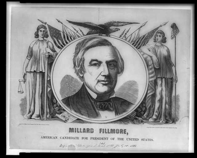 Millard Fillmore, American candidate for president of the United States