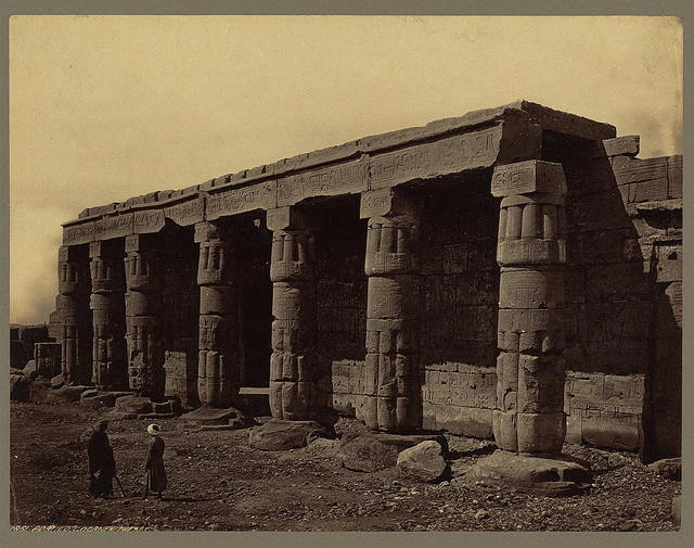 Portico. Goorneh. Thebes