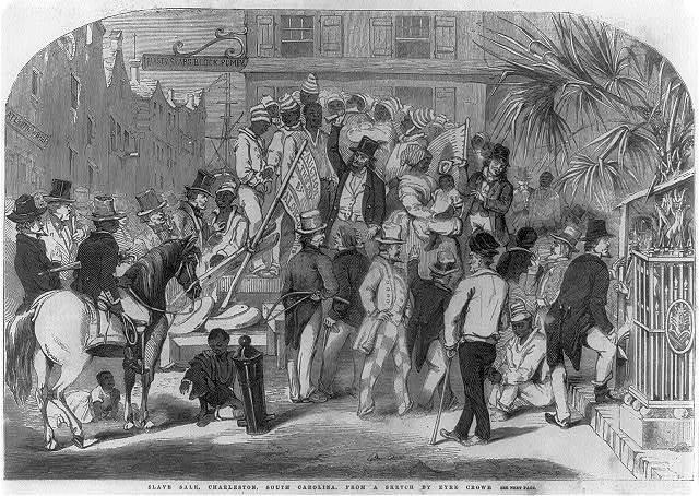 Slave sale, Charleston, S.C.