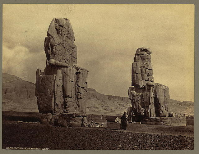 Statues of Memnon. Thebes
