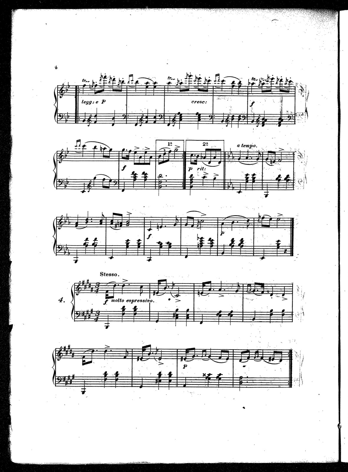 Styriennes, op. 8