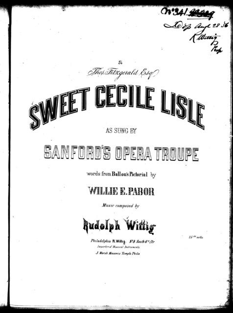 Sweet Cecile Lisle