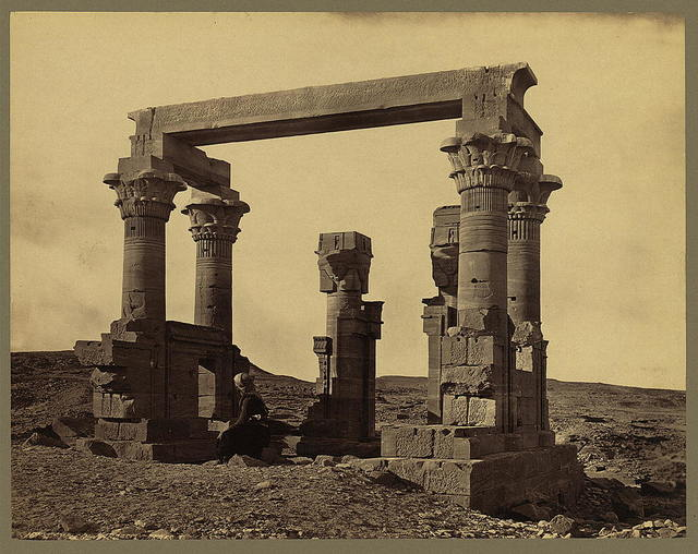 Temple of Wady Kardassy. Thebes