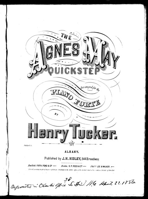 The  Agnes May quickstep