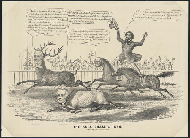 The Buck chase of 1856.