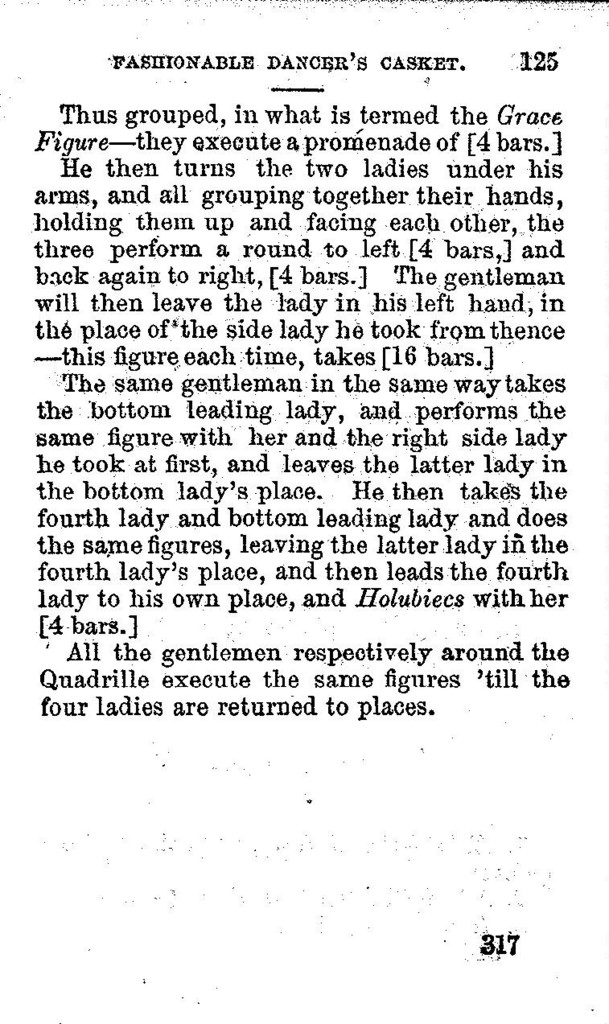 The  fashionable dancer's casket or, The ball-room instructor. A new and splendid work on dancing, etiquette, deportment, and the toilet