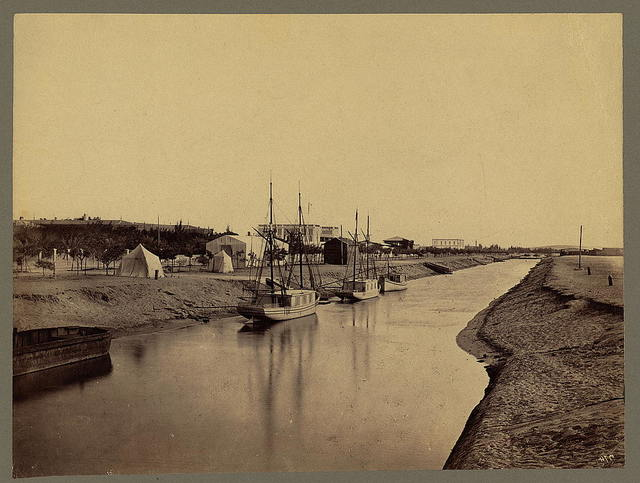 [The freshwater canal at Ismailia]