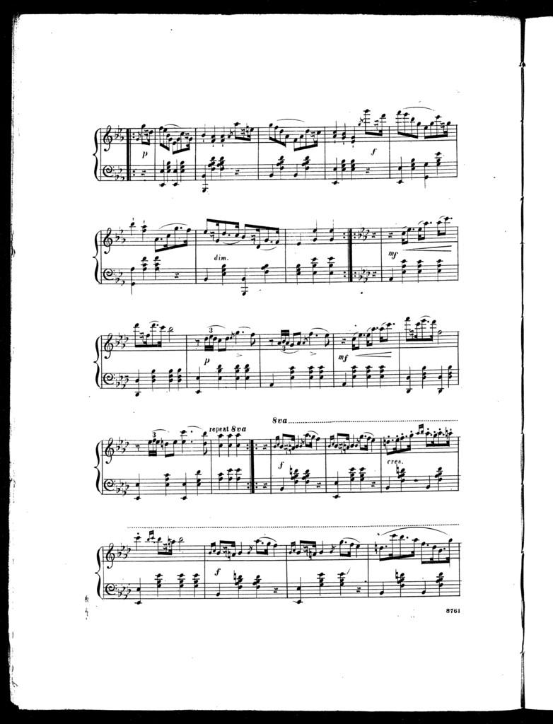 The  harp of a thousand strings schottisch