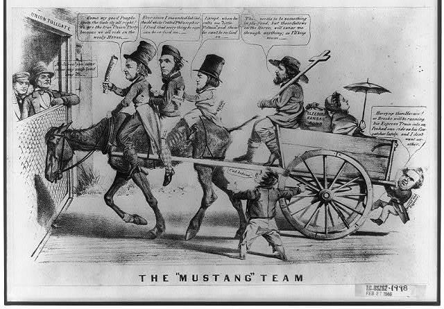 """The """"mustang"""" team"""