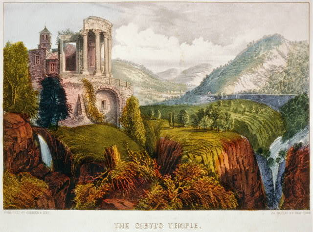 The sibyl's temple