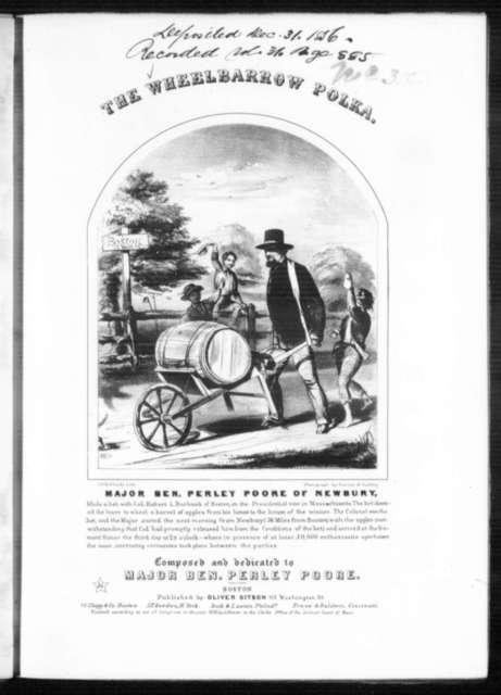 The  wheelbarrow or cider polka