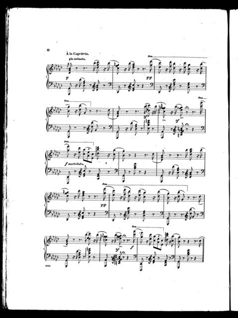 The  whispering wind, mazurka caprice, op. 38