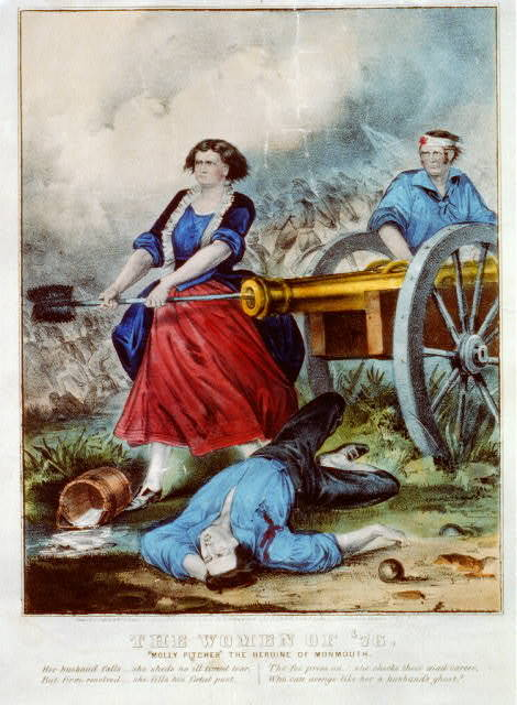 """The women of '76: """"Molly Pitcher"""" the heroine of Monmouth"""