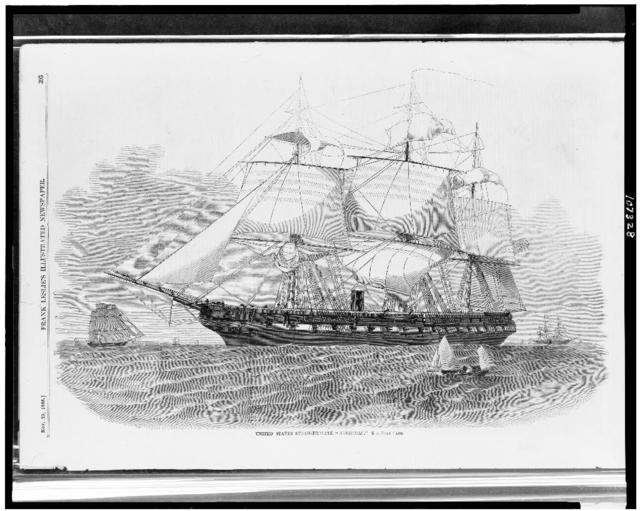 "United States steam-frigate ""Merrimac"""