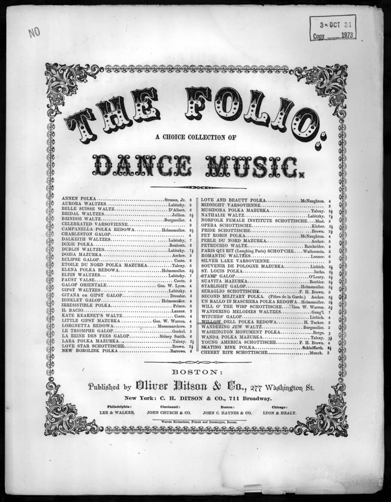 Willow dell polka redowa