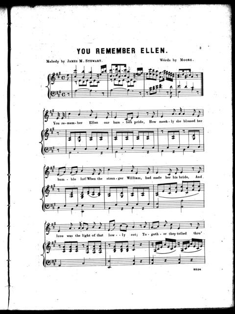 You remember Ellen