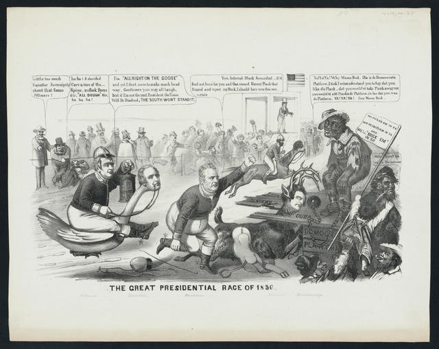 The great presidential race of 1856.
