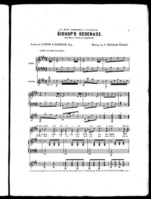 Bishop's serenade