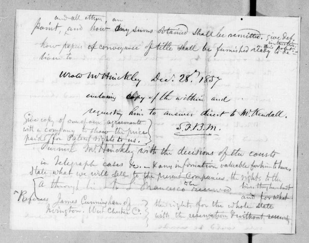 Bound volume---9 July 1857-2 April 1858