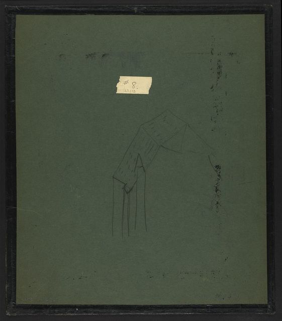 "[Design drawing for ""oratory tryptych for Myrtle L. Schick""]"