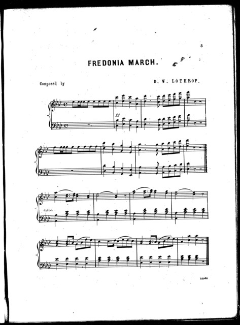 Fredonia march