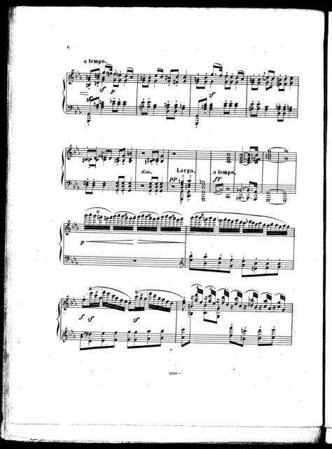 Hommage  ̉Mendelssohn, op. 4