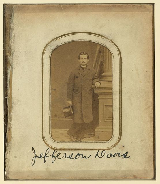 Jefferson Davis / Wm. S. Pendleton, photographer, no. 5 Chatham Square, N.Y.