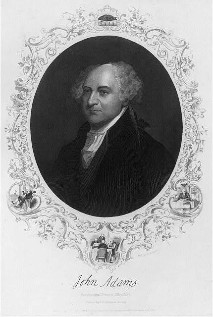John Adams, Pres. U.S.