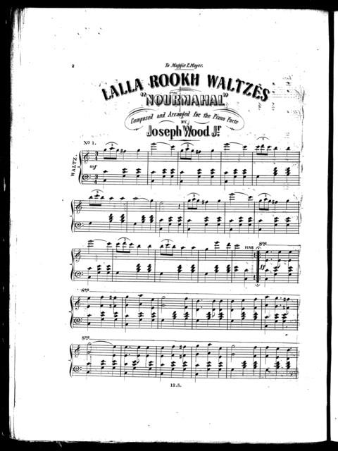 Lalla Rookh waltzes