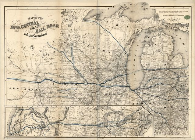 Map of Clinton County, Iowa / - Library Of Congress Public