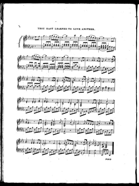 Mozart's favorite waltz -- Thou hast learned to love another -- Brigand polka