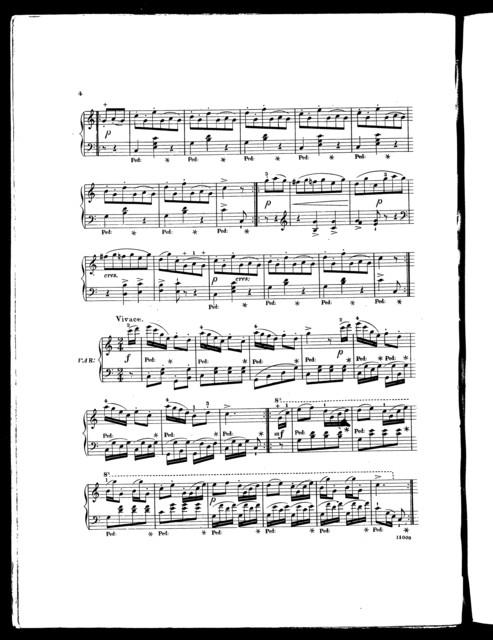 Mozart's favorite waltz, with variations