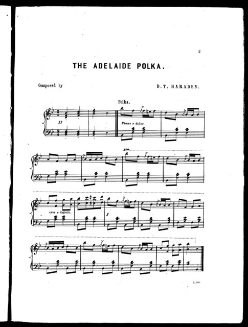 The  Adelaide polka