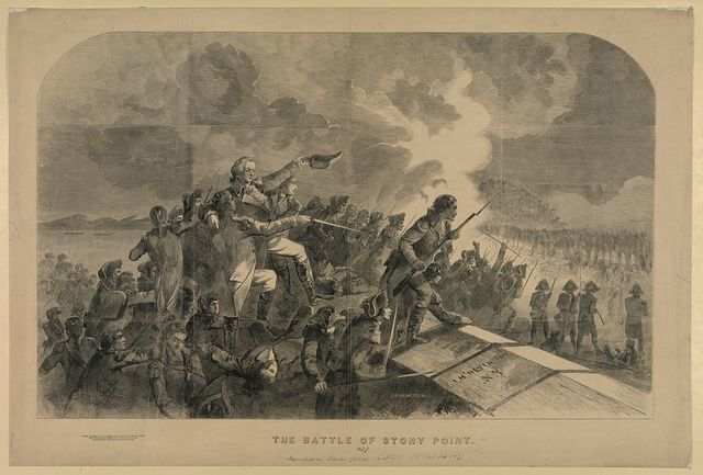 The Battle of Stony Point / J.H. Brightly, sc.