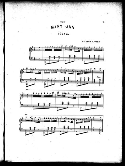 The  Mary Ann polka