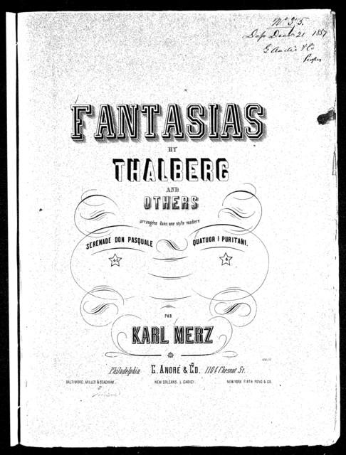 Transcription quatuor I Puritani