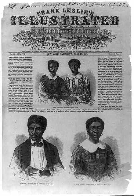 Visit to Dred Scott - his family - incidents of his life - decision of the Supreme Court