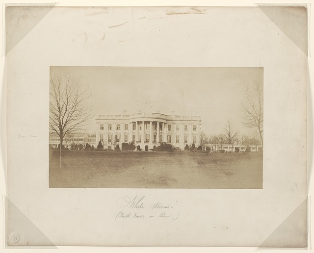 White House (South front, or rear).