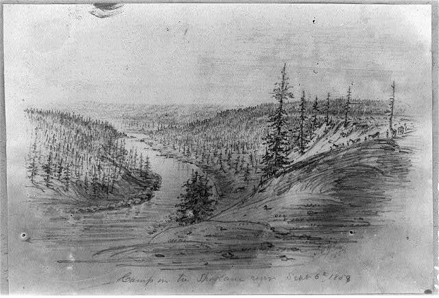 Camp on the Spokane River