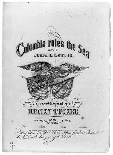 Columbia rules the sea