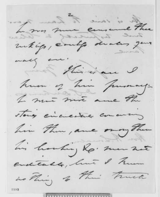 Daniel S. Dickinson to Abraham Lincoln, Monday, August 09, 1858  (Legal)