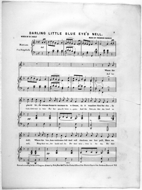 Darling little blue eye'd Nell