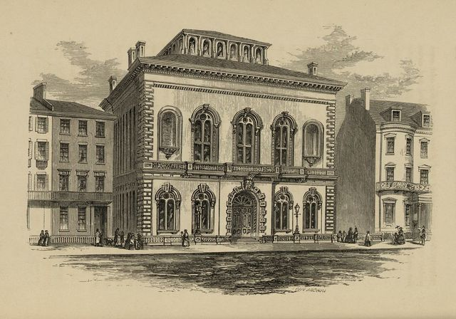 [Exterior view of the Boston Public Library] / John Andrew.